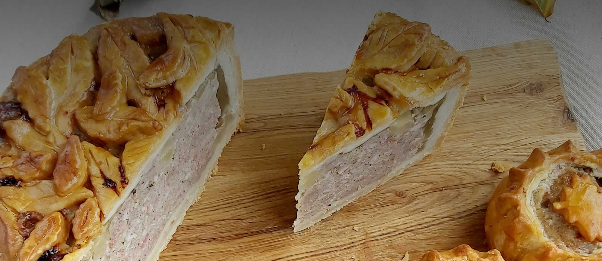 Pat's Pies - Hand raised in the Black Country